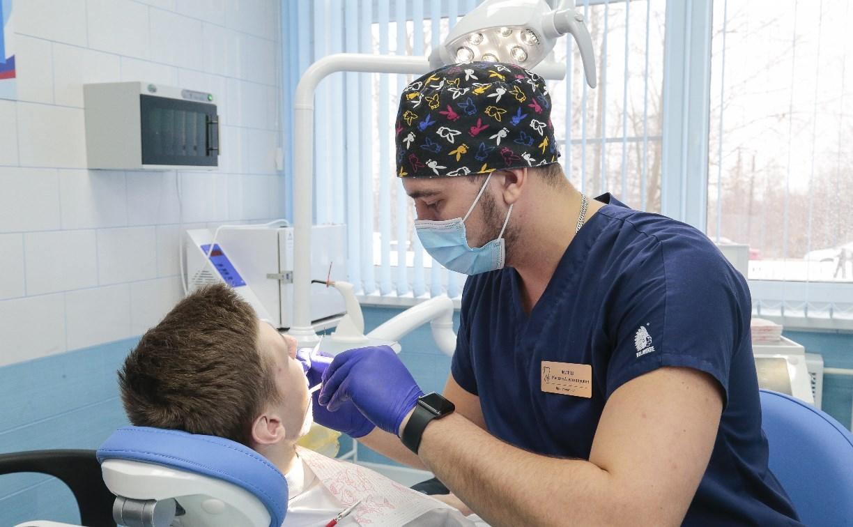 В Епифанской школе Тульской области открылся школьный стоматологический кабинет