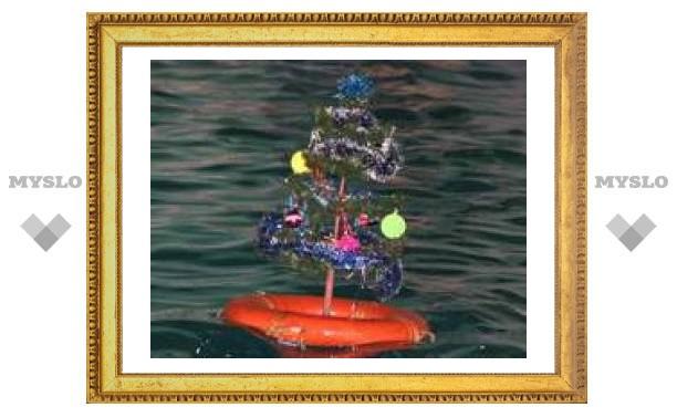 Слабо встретить Новый год на воде?!