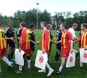 Власти Тульской области сыграли в футбол с командой Совета Федерации