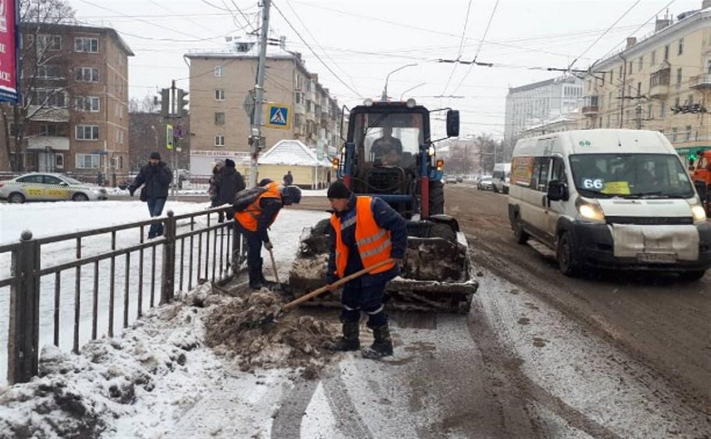 В субботу на уборку тульских улиц вышли 138 человек
