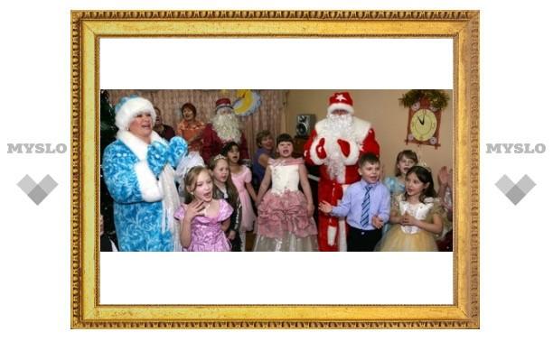 Глава города стал Дедом Морозом