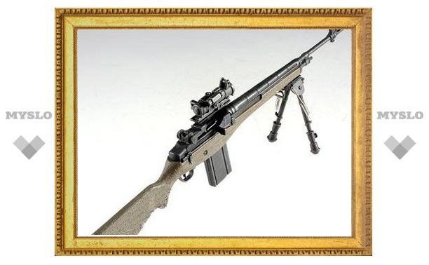 Под Тулой найден нелегальный снайперский арсенал