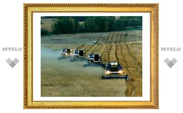 Туле нечем убирать зерно