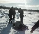 Нечищеные дороги в Донском: врачам пришлось тащить пациентку волоком