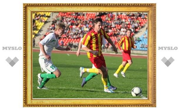Тульский «Арсенал» сыграл вничью с «Русичем»