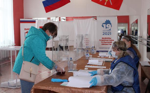 В Туле подвели итоги первого дня выборов