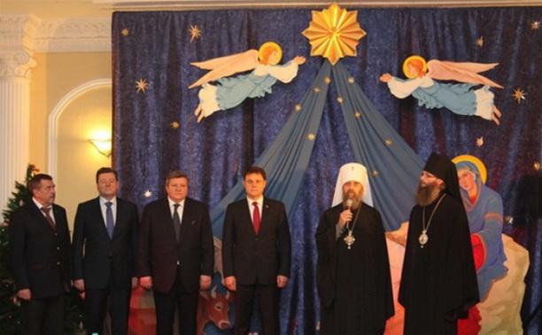 Владимир Груздев принял участие в Рождественском приеме