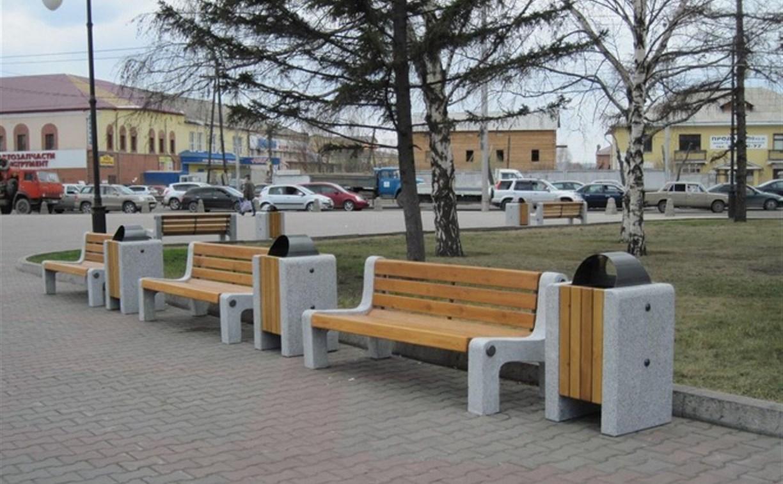 В колониях области будут делать урны и скамейки для тульских улиц