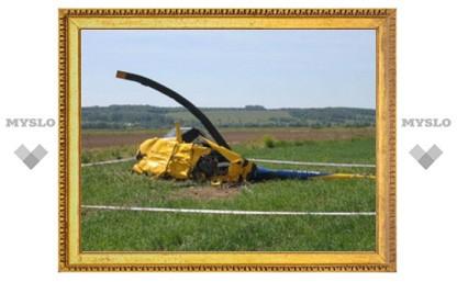 СРОЧНО! В Тульской области упал ветролет