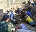 В Тульской области поисковики обнаружили массовое захоронение солдат и расшифровали смертный медальон