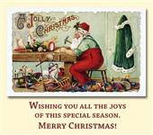 Старинные рождественские открытки, Фото: 13