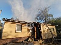 На ул. Баженова в Туле крупный пожар уничтожил жилой дом, Фото: 15