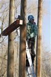 Монтаж колеса обозрения в ЦПКиО. 25 февраля 2014, Фото: 12