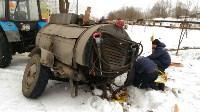 """В Туле вмерзла в лед """"Лада"""", Фото: 13"""