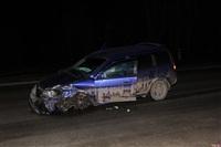 В Щегловской Засеке столкнулись две легковушки, Фото: 1