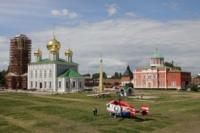Установка шпиля на колокольню Тульского кремля, Фото: 9