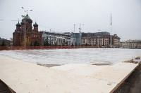 Заливают Губернский каток, Фото: 2
