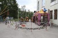 В Ясногорске Алексей Дюмин поручил привести в порядок городской парк, Фото: 16