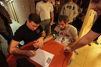 Взвешивание бойцов перед турниром M-1 Challenge 44, Фото: 68
