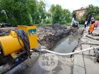 Дворы на Красноармейском проспекте затопило нечистотами, Фото: 4
