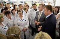 В Богородицке Алексей Дюмин посетил ООО «Завод №423», Фото: 17