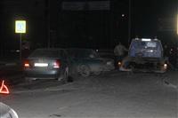 "На ул. Ложевой в Туле Volkswagen протаранил ""семерку"", Фото: 11"