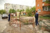 Коммунальная авария на ул. Лейтейзена, Фото: 6