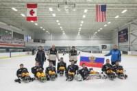 Алексинские следж-хоккеисты в Америке, Фото: 3