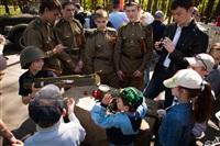 В Центральном парке воссоздали боевой подвиг советских солдат, Фото: 26