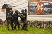 В Туле спецподразделения ОМОН и СОБР провели учения, Фото: 9