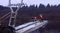 Монтаж моста в Архангельской области, Фото: 13