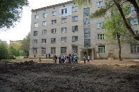 Сторонники партии «Новые люди» из Тулы и Краснодара за 20 млн руб. ремонтируют общежитие в Калуге, Фото: 14