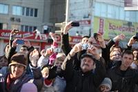 Третий этап эстафеты олимпийского огня: проспект Ленина, Фото: 19