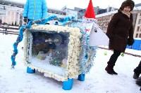 Арт-объекты на площади Ленина, 5.01.2015, Фото: 34