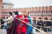 Средневековые маневры в Тульском кремле. 24 октября 2015, Фото: 93