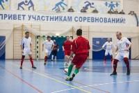 Мэр Тулы Юрий Цкипури и команда ветеранов «Фаворит» сыграли в футбол с волонтерами, Фото: 33