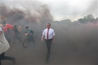 """Файер-шоу от болельщиков """"Арсенала"""". 16 мая 2014 года, Центральный парк, Фото: 14"""