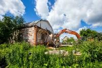 Снос домов в Плеханово. 6 июля 2016 года, Фото: 17