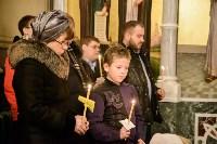 Рождественское богослужение в Успенском соборе Тулы, Фото: 74