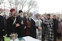 Освящение креста купола Свято-Казанского храма, Фото: 19