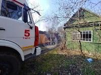На Косой Горе в Туле пожар уничтожил дачу, Фото: 2