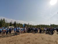 В Кондуках прошла акция «Вода России»: собрали более 500 мешков мусора, Фото: 23
