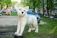 Огромные фигуры кота и собаки, Фото: 5