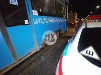 В Туле у трамвая отвалилось колесо и в него врезалась легковушка, Фото: 5