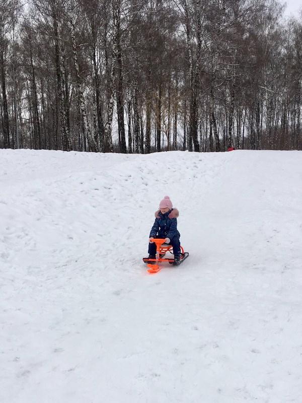 Любимое зимнее развлечение!