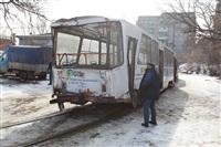 ДТП с участием двух трамваев. , Фото: 8