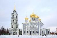 Арт-объекты на площади Ленина, 5.01.2015, Фото: 1