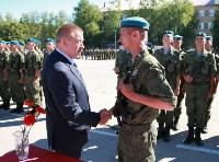 Командиру 106-й гвардейской воздушно-десантной дивизии вручено Георгиевское знамя, Фото: 11