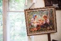 Александр Немцов рассказал об истории картины с Путиным, Богородицей и Николаем II, Фото: 35