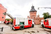 Учения МЧС в Тульском кремле, Фото: 50